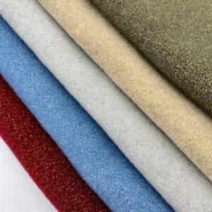 Panno lana glitter